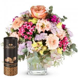May Bouquet of the Month with Gottlieber cocoa almonds