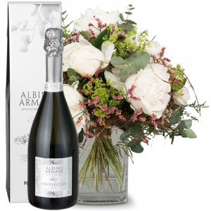 Magical Peonies with Prosecco Albino Armani DOC (75cl)