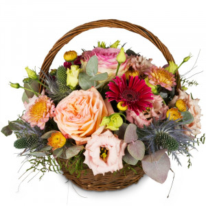 Romantic Seasonal Basket